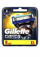 Gillette Fusion 5 Proglide Mens Razor Blades XL 8 Pack 100% Genuine UK Stock