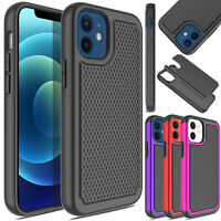 For iPhone 12 Pro Max/Mini 5G Case Heavy Duty Shockproof Rugged Hard Armor Cover