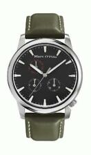 Marc O'Polo Men's Watch 4210003 Analog Leather Olive