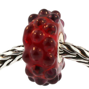 Authentic Trollbeads Glass 61341 Red Berries :1 RETIRED
