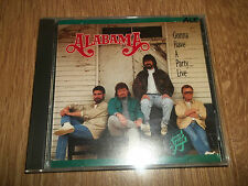 "ALABAMA "" GONNA HAVE A PARTY...LIVE "" CD ALBUM EXCELLENT"
