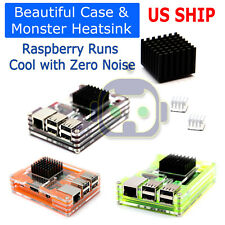 Ctghgyiki VS9 ABS Case Enclosure Box Fit for Raspberry Pi 3 Model B Plus Module