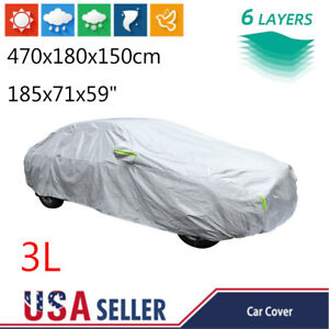 All Weather Car Cover Waterproof Full UV Protection Dust Resistant For Sedan