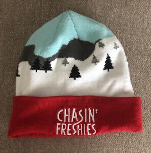 Deschutes Brewery Chasin' Freshies Winter Ski Cap Beanie Hat