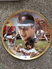 Cal Ripken Jr. - Baseball Record Breaker - Bradford Exchange Collector Plate