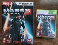 Mass Effect 3 (Microsoft Xbox 360, 2012) + OFFICIAL STRATEGY GAME GUIDE