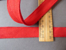 Red Cotton Piping. Vintage. Wide. 20mms  x 4 Metres