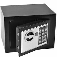 Electronic Digital Safe Box Keypad Lock Security Home Office Cash Jewelry US