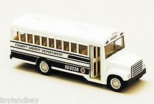 "County Sheriff Department Prison Work Release Bus Diecast 5"" long 1:64 Scale"
