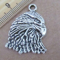 20pc Retro Tibetan Silver Little Fox Animal Pendant Charms Beads Wholesale PJ414