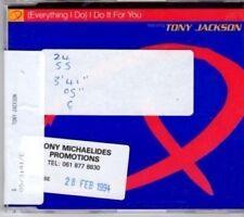 (BU833) Q ft Tony Jackson, (Everything I Do) I Do It For You - 1994 DJ CD