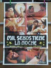 MIL SEXOS TIENE LA NOCHE JESUS FRANCO SEXPLOITATION        MIDE 80X58