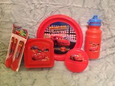 Disney CARS Dining & Lunch Set !!!NEW!!!