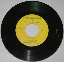 Murat Temple Band 45rpm EP Indianapolis,Indiana N8OH-4783,4784 Bill Bailey G-toG