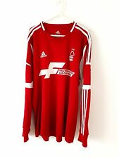 Nottingham Forest Home Shirt 2013. XL. Adidas. Red Adults Long Sleeves Top Only.