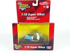 Speed Wheels 1:18 Scale Super Bikes - Honda Metropolitan Authentic Replica NEW