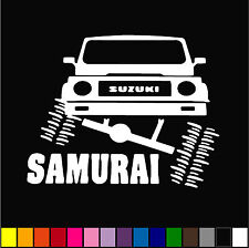 "JEEP SUZUKI SAMURAI FURNIA  DECAL 5"" CAR WINDOW FUNNY VINYL STICKER"