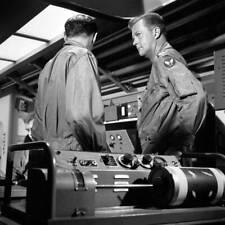 OLD CBS TV RADIO PHOTO Men Into Space TV show William Lundigan & John Milford 6