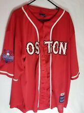 "Delf Sport ""38"" Boston Baseball Red Jersey Vintage Sz 2XXL"