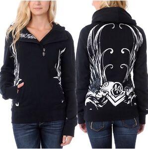 Metal Mulisha Ladies Saucy Hoodie Size XS