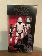 Hasbro Star Wars The Black Series 6 inch First Order Flametrooper Action Figure