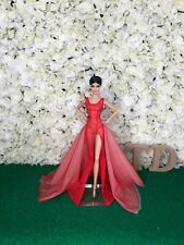 Red Evening Dress Outfit Gown Fits Silkstone Fashion Royalty