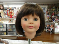 NEW STYLE ! Cathie Lee! wig for Patti , Patty Playpal DORIS Light Brown19 1/2 sz