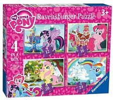 MY LITTLE PONY 4 IN A BOX 12/16/20/24 PIECE RAVENSBURGER JIGSAW PUZZLE