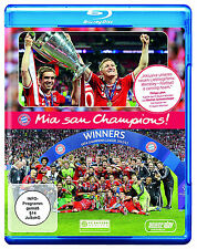 Mia san Champions FC Bayern München Bluray Neu