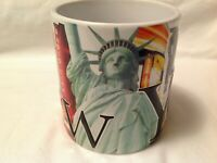 New York City Jumbo Embossed 18oz Coffee Tea Mug Cup Americaware