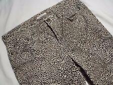 Womens Leopard Print Capri Jeans Jones New York size 10
