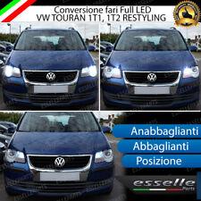 KIT LED VW TOURAN RESTLING ANABBAGLIANTI ABBAGLIANTI POSIZIONE CANBUS 3.0 BIANCO