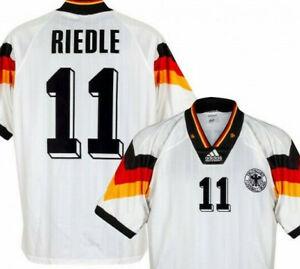 Germany 1992-94 Any Nameset Football Shirt Soccer Numbers Heat Print Football