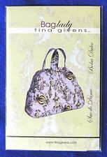 """Tina Givens """"Baglady"""" Travel Bag Accessory Pattern #TG-A5029 One Size New"""