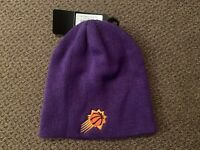 Phoenix Suns NBA Purple knit Winter Hat Beanie Cap Adult OSFA NWT Basketball