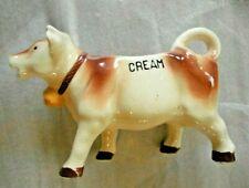 Vintage made in Japan Cow Shaped Ceramic Milk Jug Creamer