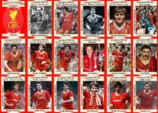 Liverpool 1984 Division One Champions football trading cards (1983-84)