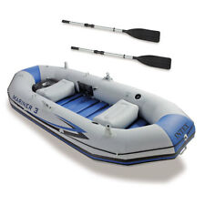 Intex Mariner 3-Person Inflatable River/Lake Dinghy Boat 68373EP