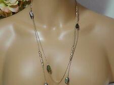 Alexis Bittar Gold Elements Labradorite Rocky Station Necklace. *****NEW*****