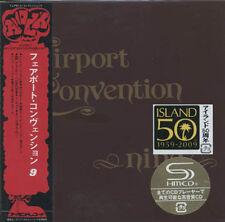 Fairport Convention Nine (1973) + 4 bonustracks Japan mini lp SHM-CD UICY - 93997