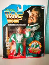 Vtg 90's WWF WWE Hasbro Sealed MOC Ted Dibiase Million Dollar Man