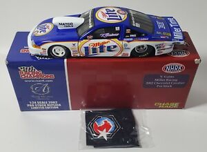 2002 RACING CHAMPIONS AUTHENTICS 1/24 V GAINES MILLER LITE PRO STOCK CHEVY