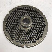 Used Kasco Powermate 32 Hubbed Meat Grinder Plate 964 Holes
