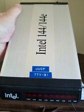 Intel 144/144e PCFM7600 External Fax Modem 14.4 kbps RARE Intel model