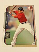 2015 Bowman Baseball #27 - Mookie Betts - Boston Red Sox