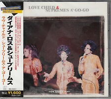 The Supremes: Love Child/Supremes A Go-Go (Motown Japan Import 2on1 CD) NEW SS