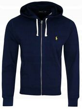 Polo Ralph Lauren Men's Zip Track Top Light Sport Heather Black Navy  S M L XL