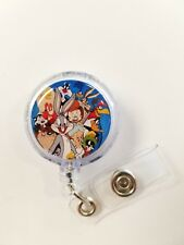 Looney Tunes. Bugs Bunny and Friends Retractable Badge Name Tag ID Holder 3D