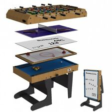 Riley 4ft Folding 12 in 1 Multi Games Table