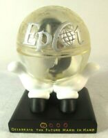 New DISNEY EPCOT LE 2000 MILLENNIUM WATCH w/ Globe Hand in Hand 198 of 2000 COA